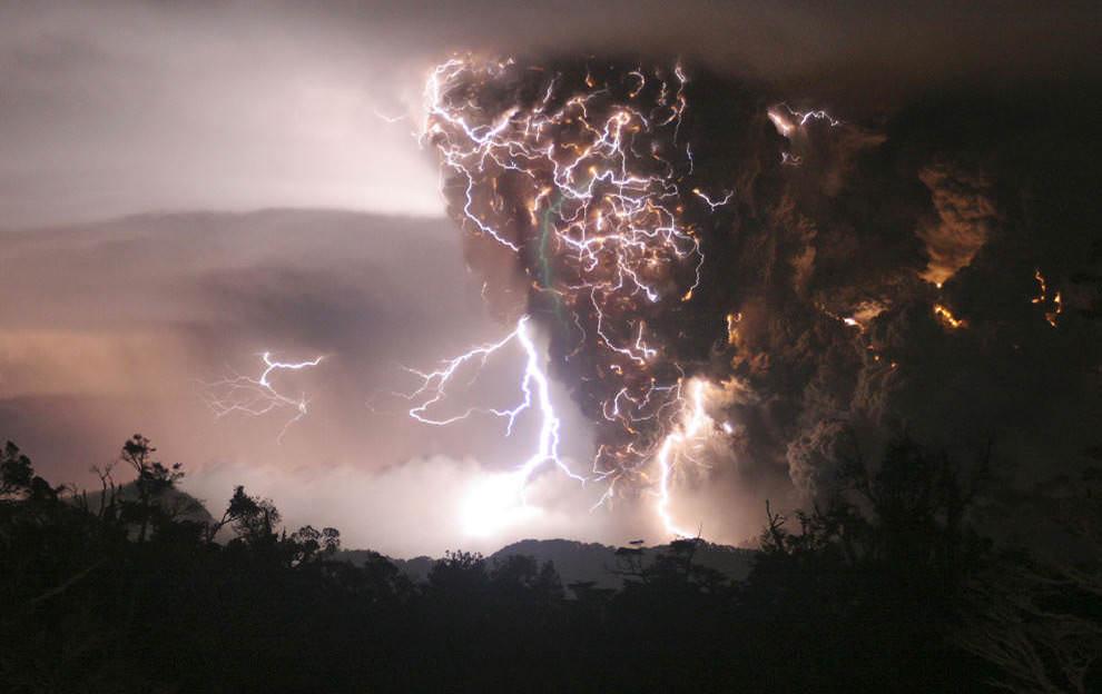 Erupción del volcán Chaiten
